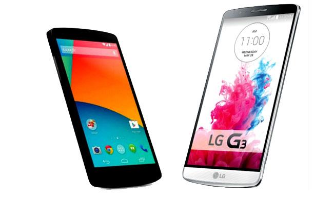 LG G3 vs Nexus 6