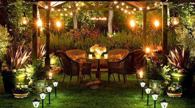 Light Up Your Garden Installing Outdoor Lighting