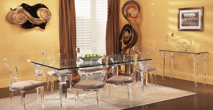 Get The Modern Feel With Acrylic Furnitures In Your House