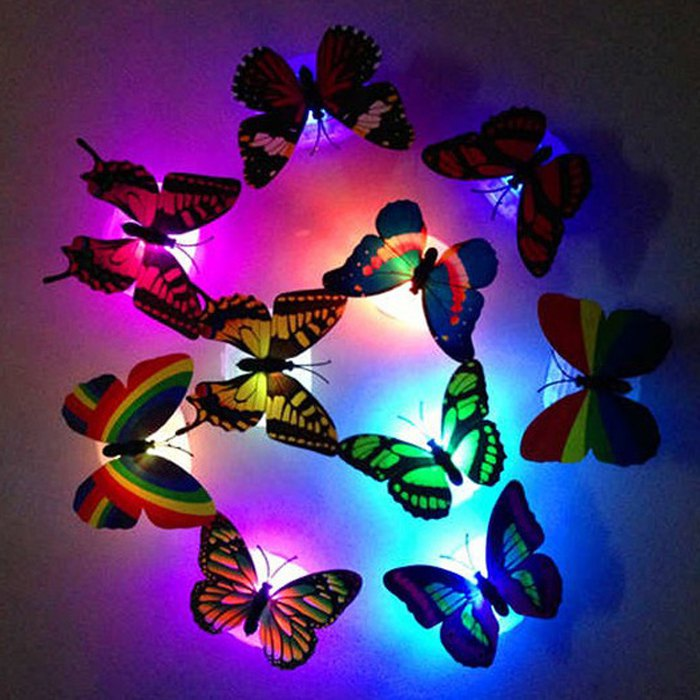 LED Butterfly Light