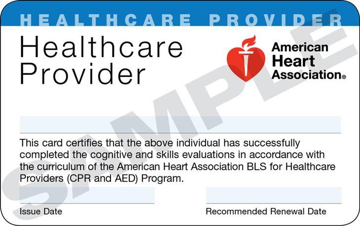 BLS certification