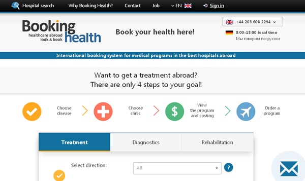 Find The Greatest Clinics In The Globe With Bookinghealth