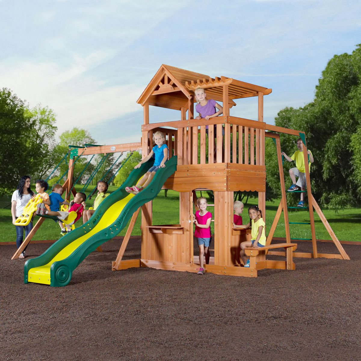 Safety Tips That You Must Consider Before Shopping A Backyard Swing Set For Your Home