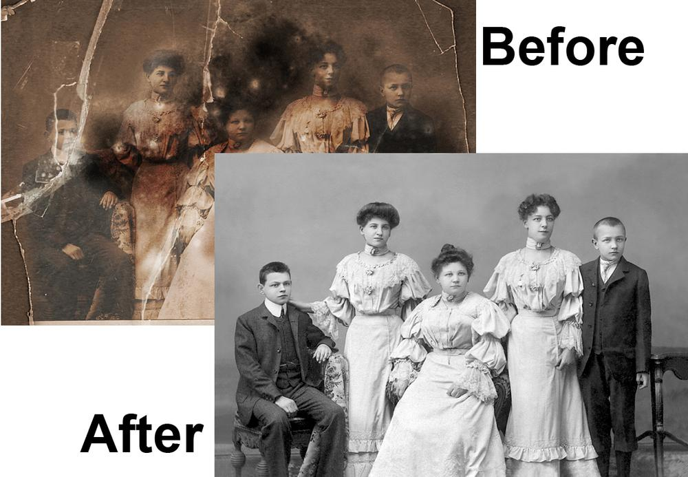 What Do We Mean by Digital Photography Restoration