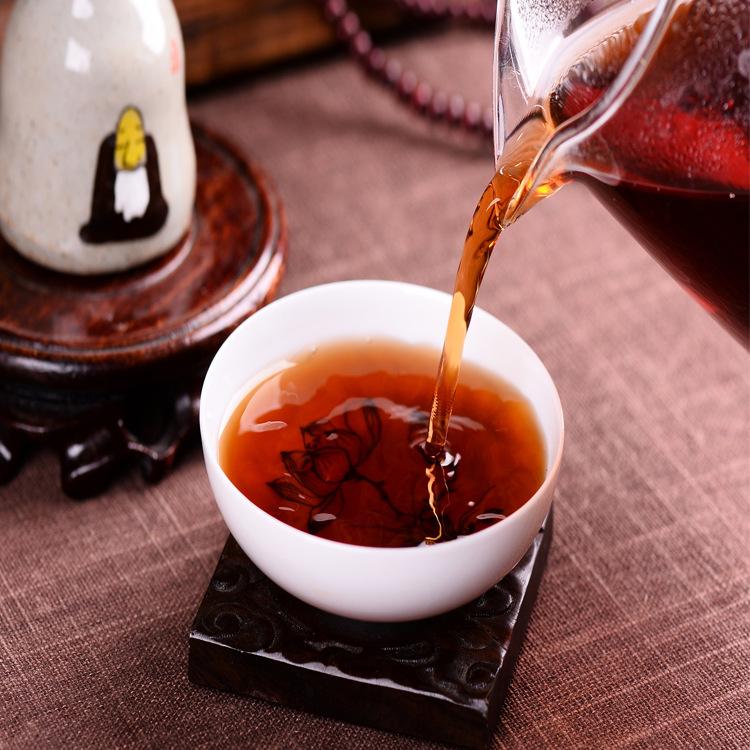 357g-Chinese-Ripe-Puer-black-Tea-green-natural-health-food-old-tea-cooked-Pu-erh-tea