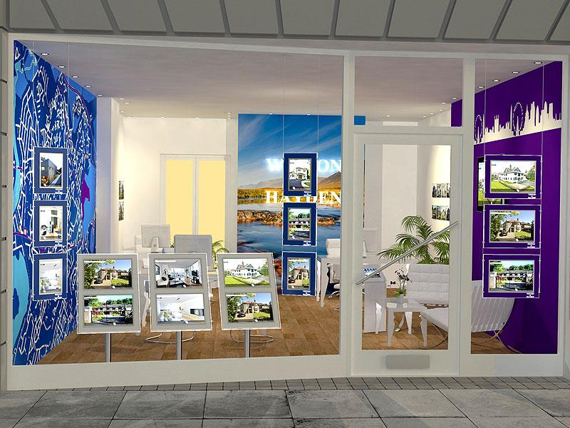 Reasons For The Popularity Of LED Estate Agent Displays