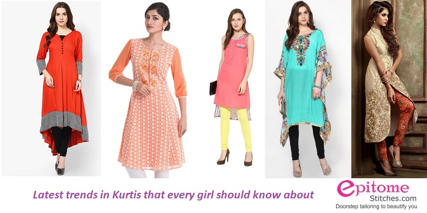 Latest Trends In Kurtis That Every Girl Should Know About