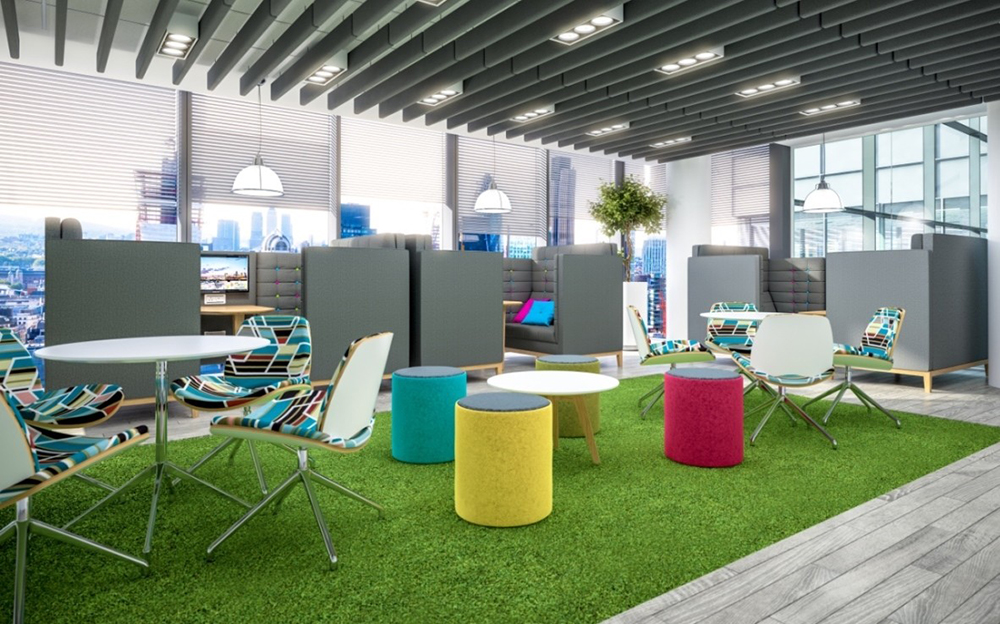 Breakout Furniture From Rapid Office Offer Style, Comfort And Utility
