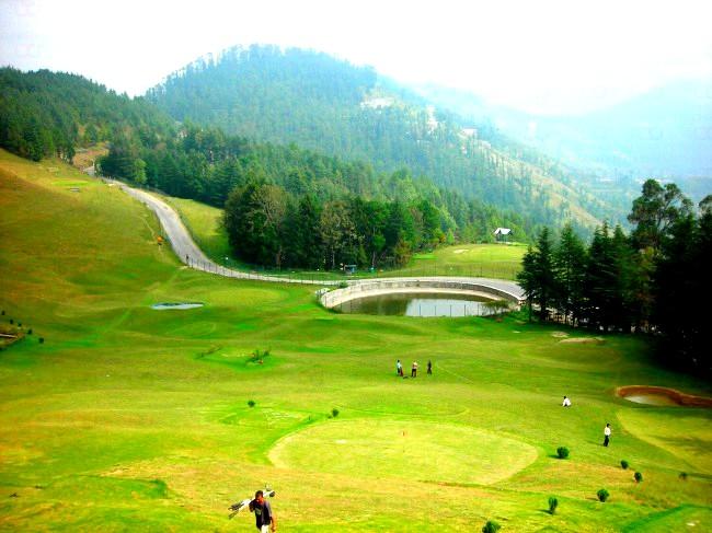 Golf Course in Naldhera