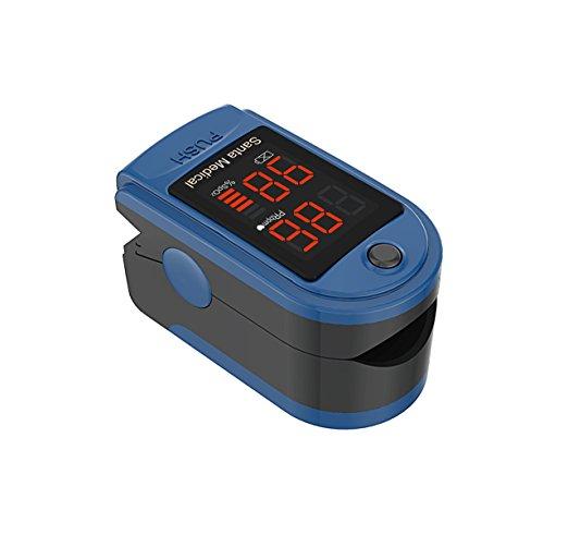 Finger Pulse Oximeter.