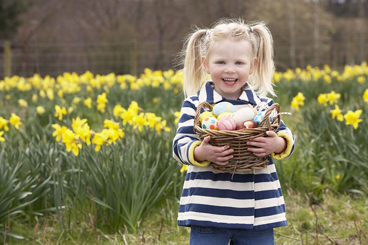 Up Your Easter Game With A Scavenger Egg Hunt