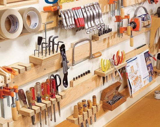 4 Ways To Organize Your Workshop
