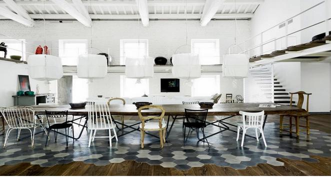 Patterned Tiles: A Modern Mosaic