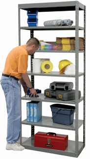 The Many Advantages Of Boltless Shelving