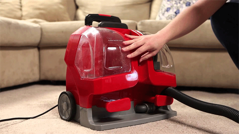 4 Portable Carpet and Upholstery Cleaners