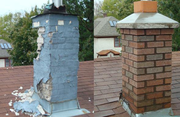 Chimney Masonry Repairs