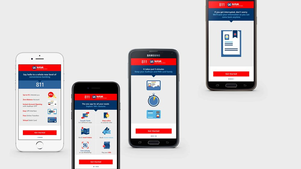 Open Your Savings Account With Kotak 811 App