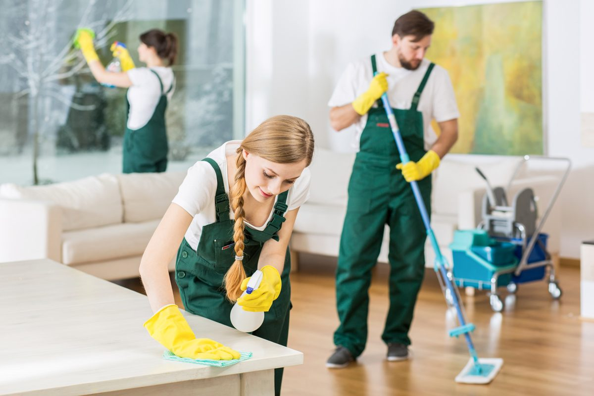 Hire Professionals For House Cleaning
