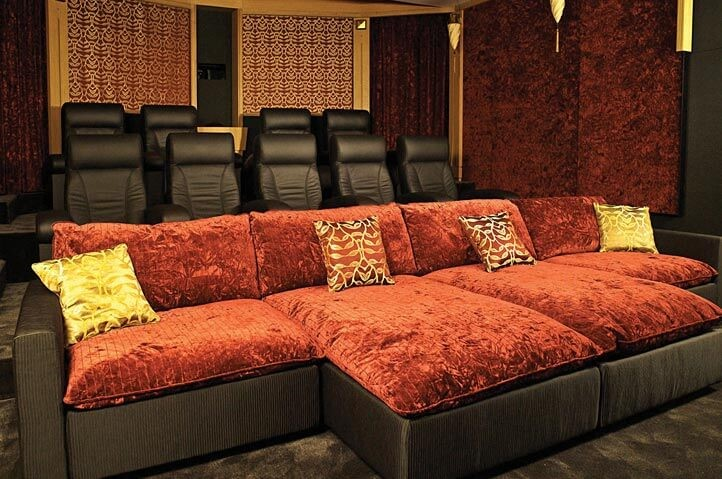 Relaxed Cinema Seating
